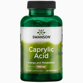 Ultra Caprylic Acid 600 mg