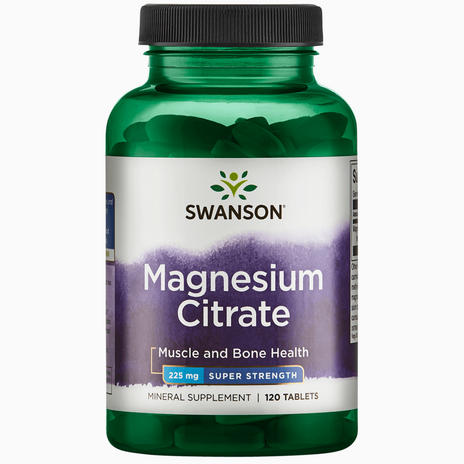 Ultra Super Strength Magnesium Citrate 225mg
