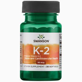 Ultra Natural Vitamin K2 (Menaquinone-7 de Natto) 50 µg