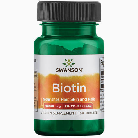 Ultra Timed-Release Biotin 10 mg
