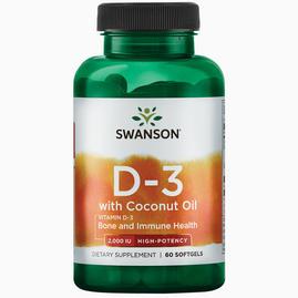 Ultra Vitamine D-3 2000iu W/Coconut Oil