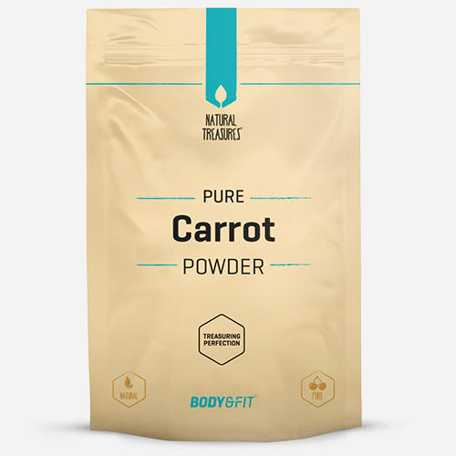 Pure Karottenpulver
