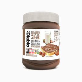 Hazelnut chocolate spread (inget tillsatt socker)
