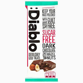 Dark Chocolate with Hazelnuts (sugar-free)