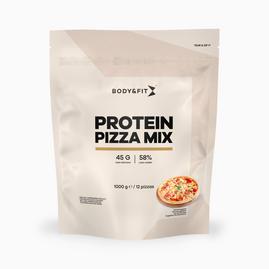 Préparation pour pâte à pizza protéinée