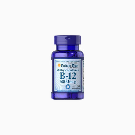 Methylcobalamin Vitamin B-12 5000 mcg