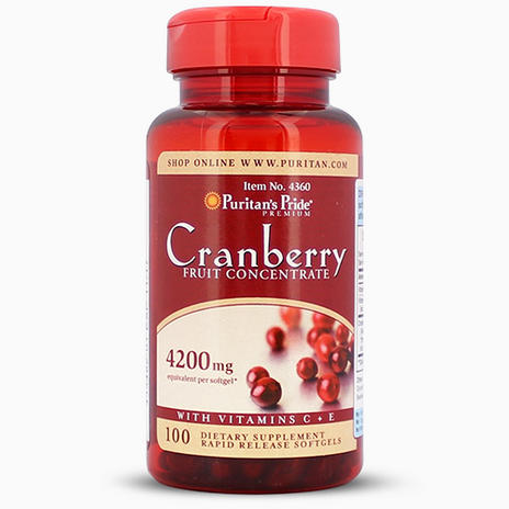 Cranberry Fruit Concentrate with C & E 4200 mg