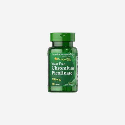 Chromium Picolinate 200 mcg Yeast Free