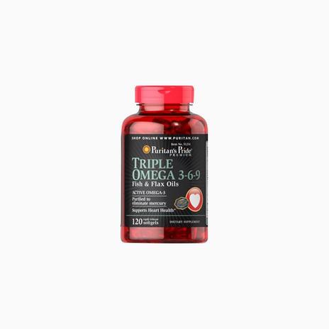 Triple Omega 3-6-9 Fish & Flax Oils