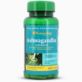 Ashwagandha Standardized Extract 500 mg