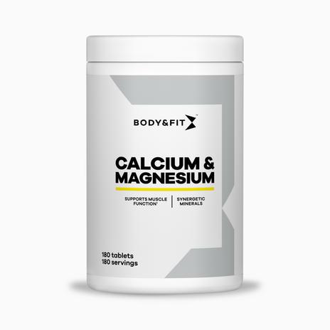 Calcium and Magnesium Tablets (180 comprimidos)