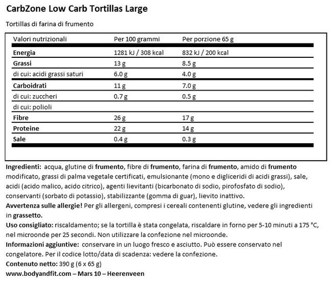 Low Carb Tomato Large Nutritional Information 1