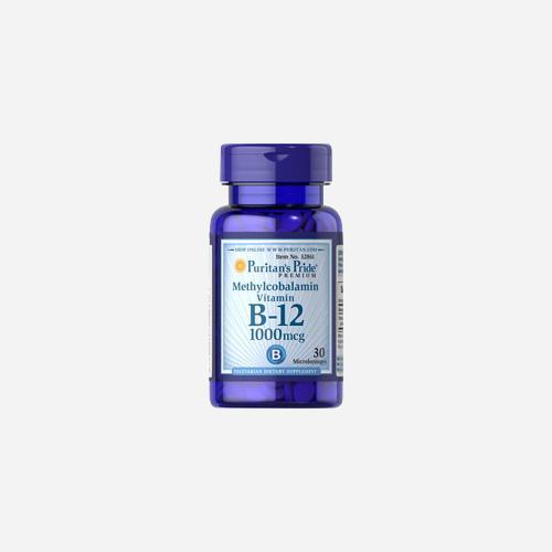 Methylcobalamin Vitamin B-12 1000 mcg