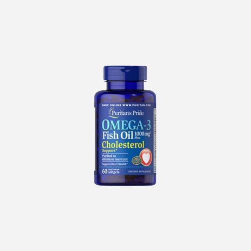 Omega-3 Fish Oil Plus Cholesterol Support