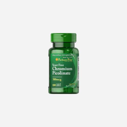 Chromium Picolinate 500 mcg (hefefrei)