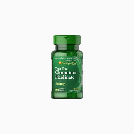 Chromium Picolinate 500 mcg Yeast Free