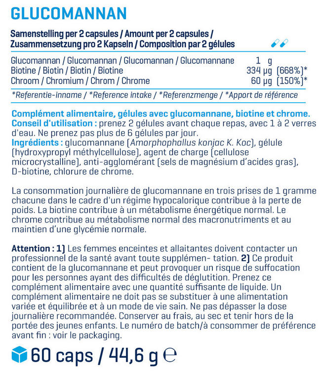 In Control Nutritional Information 1