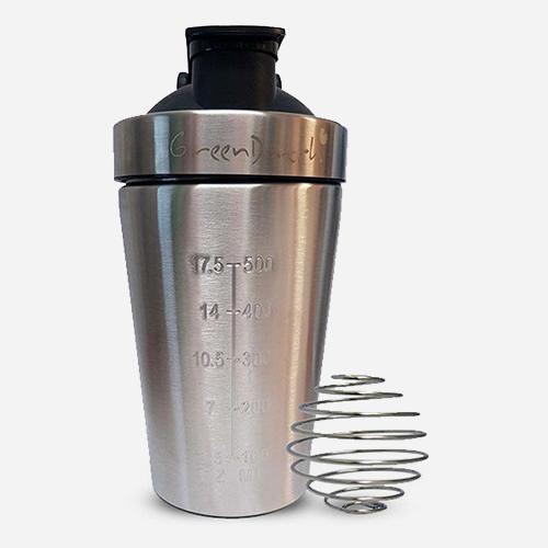 Stainless Steel Shaker (Edelstahl)