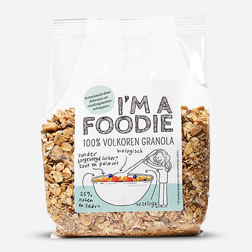 I'm a Foodie Granola Complet