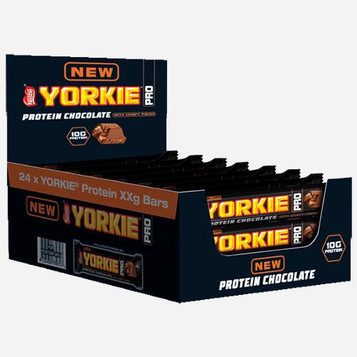 Barre chocolatée Yorkie Protein Chocolate Bar