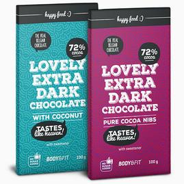 Smart Chocolate (0 açúcar e 72% cacau)