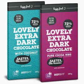 Smart Chocolate (0 % socker & 72 % kakao)