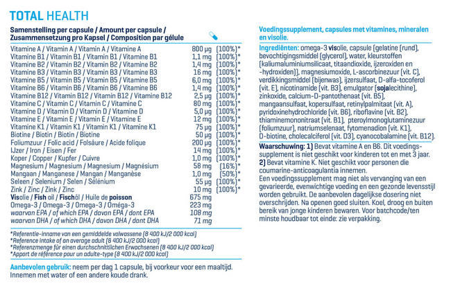 Total Health Nutritional Information 1
