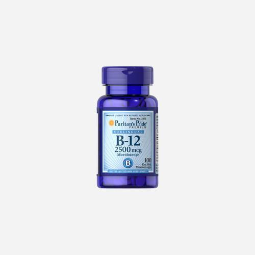 Vitamin B-12 2500 mcg Sublingual