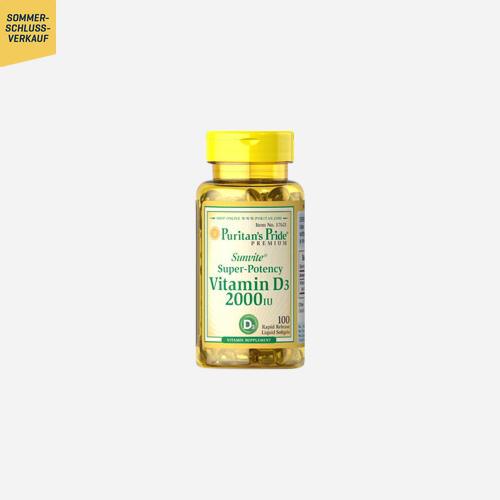 Vitamine D3 2000 IU